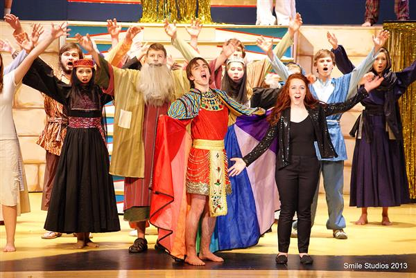 Joseph and Technicolor Production Image