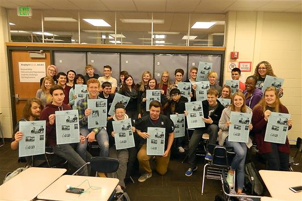 High School Student Newspaper Club