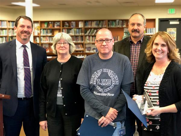 May, 2019 Educator Impact Award Recipients